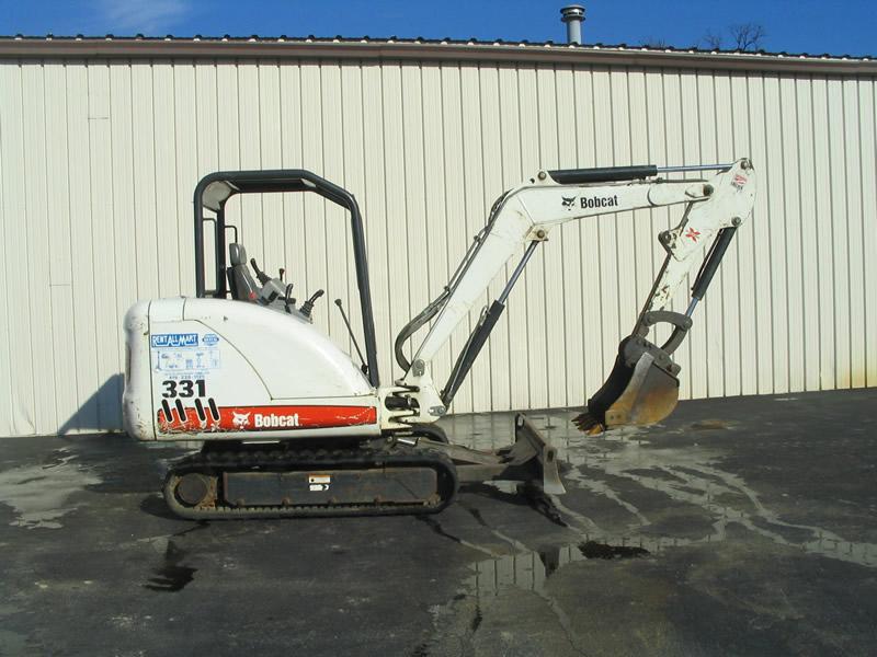 Bobcat Landscape Rake Rental : Construction equipment rental rent all mart lima ohio