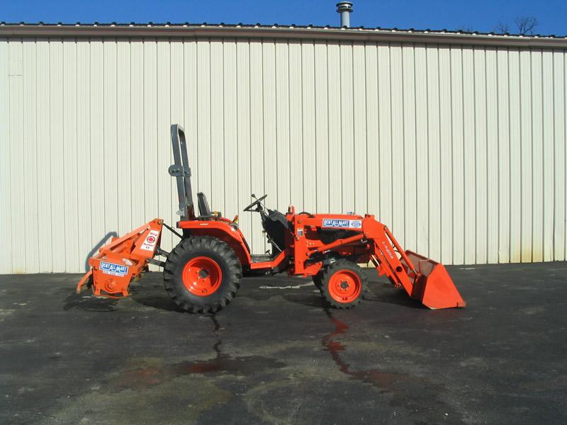 Construction Equipment Rental - Rent All Mart - Lima, Ohio