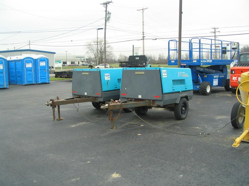 Concrete Tool Rental - Rent All Mart - Lima, OhioCompressor, 130 cfm Diesel